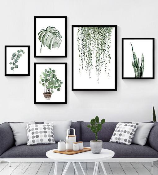 Che dilemma disporre i quadri alle pareti made with home - Decor art quadri bari ...