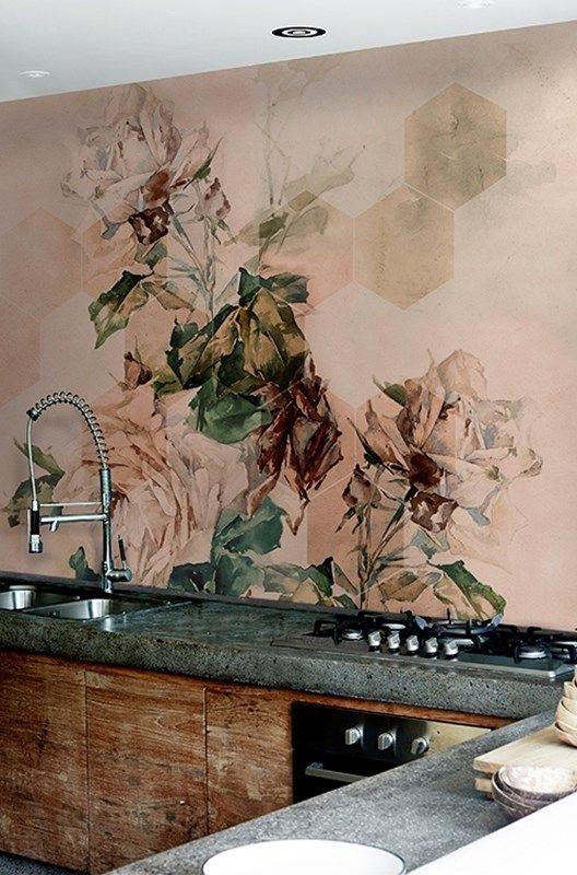 Rivestimenti Cucina Carta Da Parati.Rivestimenti In Cucina Non Solo Piastrelle Made With Home