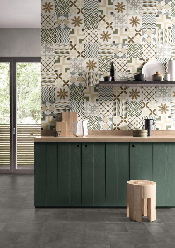 Alternativa piastrelle cucina adesivi per piastrelle cucina con pannelli per coprire with - Tavole adesive per pareti 3d ...