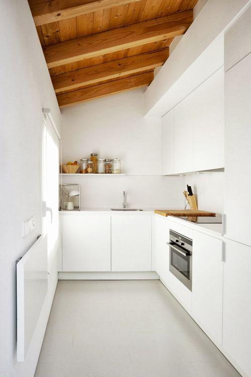 5 dritte per creare una cucina in poco spazio made with - Creare un bagno in poco spazio ...