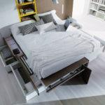 5 soluzioni per un letto salvaspazio!