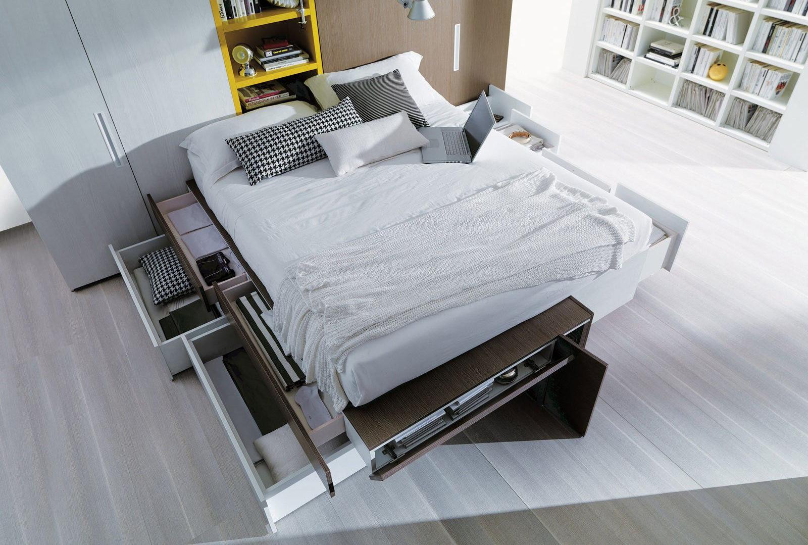 Idee Camere Da Letto Salvaspazio 5 soluzioni per un letto salvaspazio! | made with home