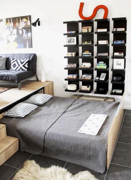 5 soluzioni per un letto salvaspazio!   Made with home