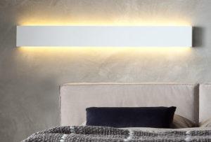 Illuminazione ai lati del letto...comfort visivo per la lettura!