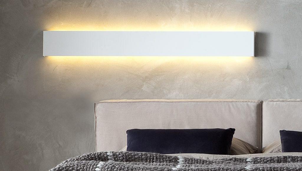 Illuminazione ai lati del letto comfort visivo per la