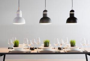 Come illuminare il tavolo da pranzo!
