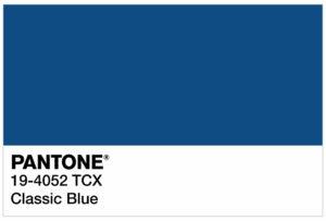 Classic Blue è il colore Pantone 2020!
