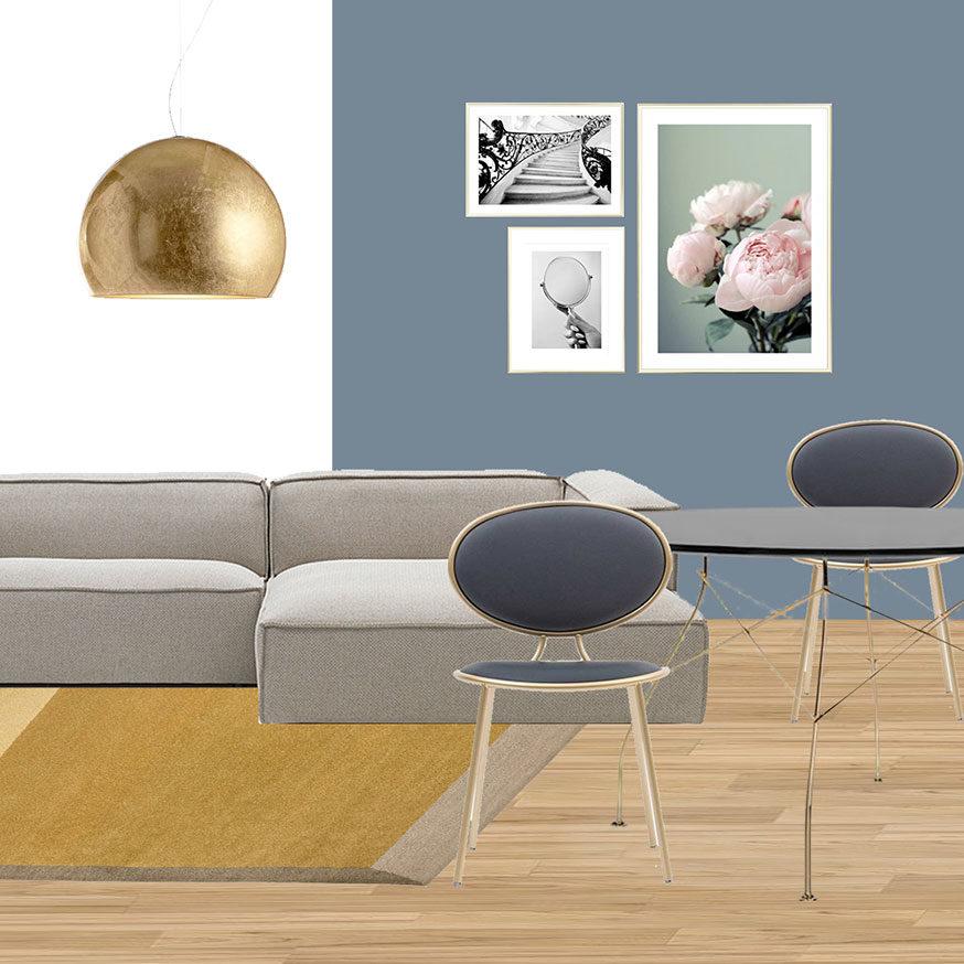Collage soggiorno 1_Il nuovo Appartamento di Giulia