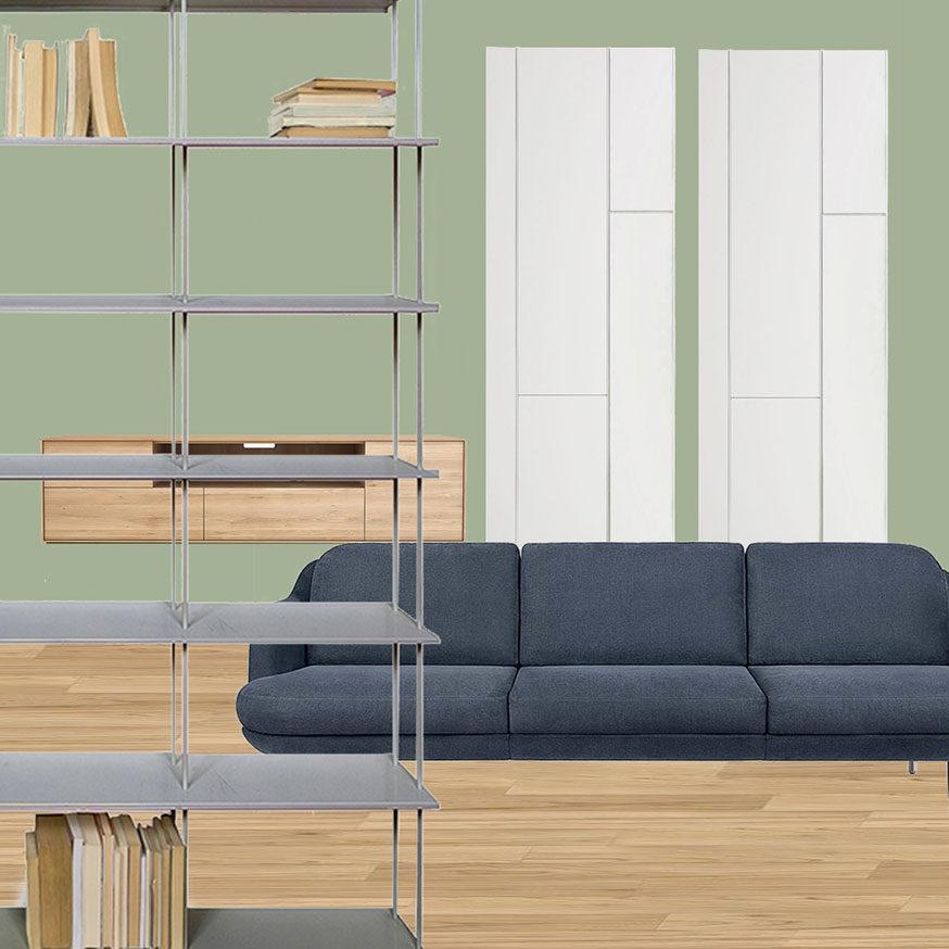 Collage soggiorno 2_Il nuovo Appartamento di Giulia
