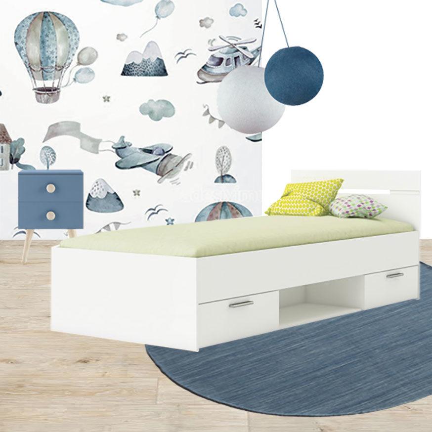 Collage cameretta 2_La nuova Casa di Simone e Valentina