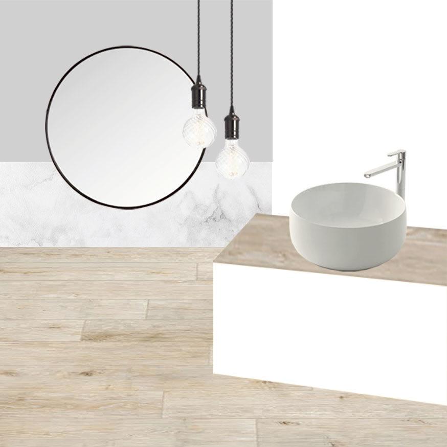 Collage bagno 1_La nuova Casa di Simone e Valentina