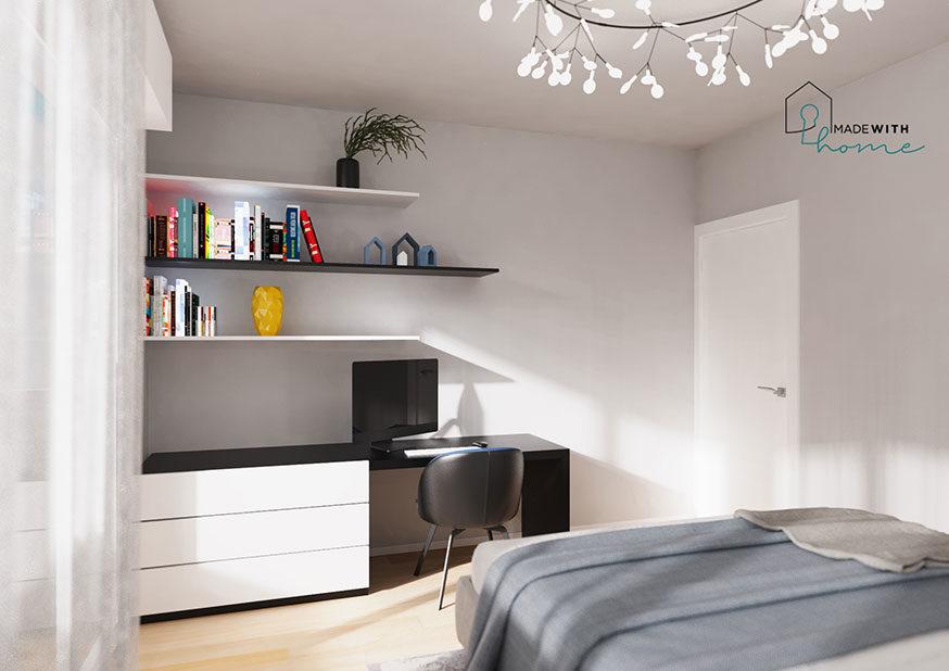 Render camera_L'appartamento in Blu di Fabio